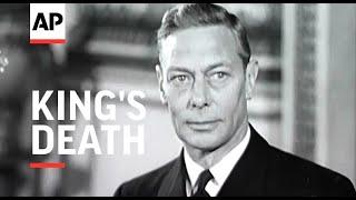 Tragic News of King's Death - 1952