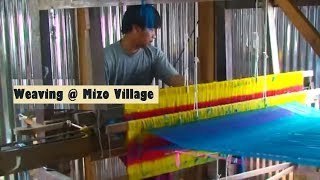 Weaving Shop, Mizoram