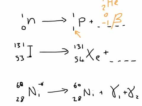 Equations of Nuclear Reactions
