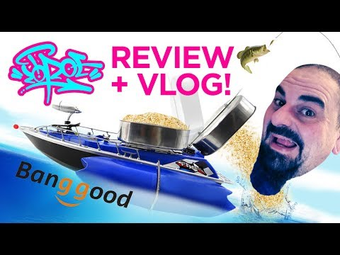 RC FISHING BOAT REVIEW by Banggood!!!