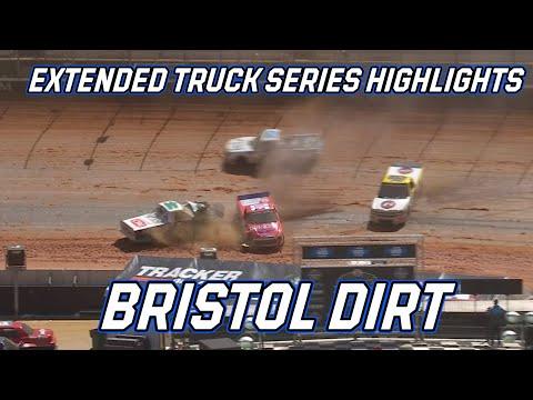 NASCAR フォード シティダートレース (ブリストル・モーター・スピードウェイ)Truck ハイライト動画