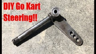 DIY Go Kart Steering! (Easy)