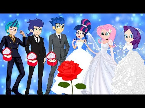 Equestria Girls Transforms with Animation Story