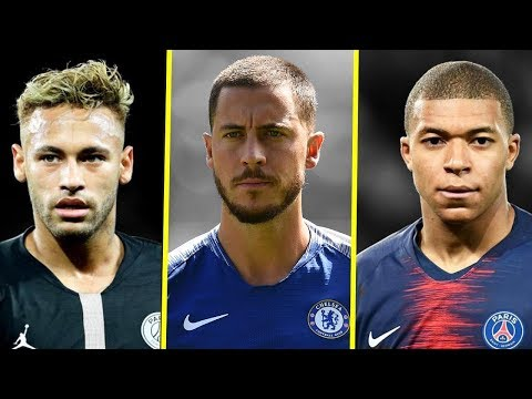 Eden Hazard VS Kylian Mbappe VS Neymar JR - Who Is The Best? - Amazing Dribbling Skills - 2018