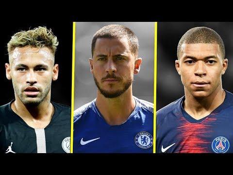 Eden Hazard VS Kylian Mbappe VS Neymar JR - Who Is The Best? - Amazing Dribbling Skills - 2018