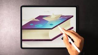 Magic Book - Digital Art With IPad Pro