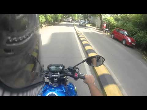 2015 Suzuki GSX-S1000 short ride/thoughts and stock exhaust note