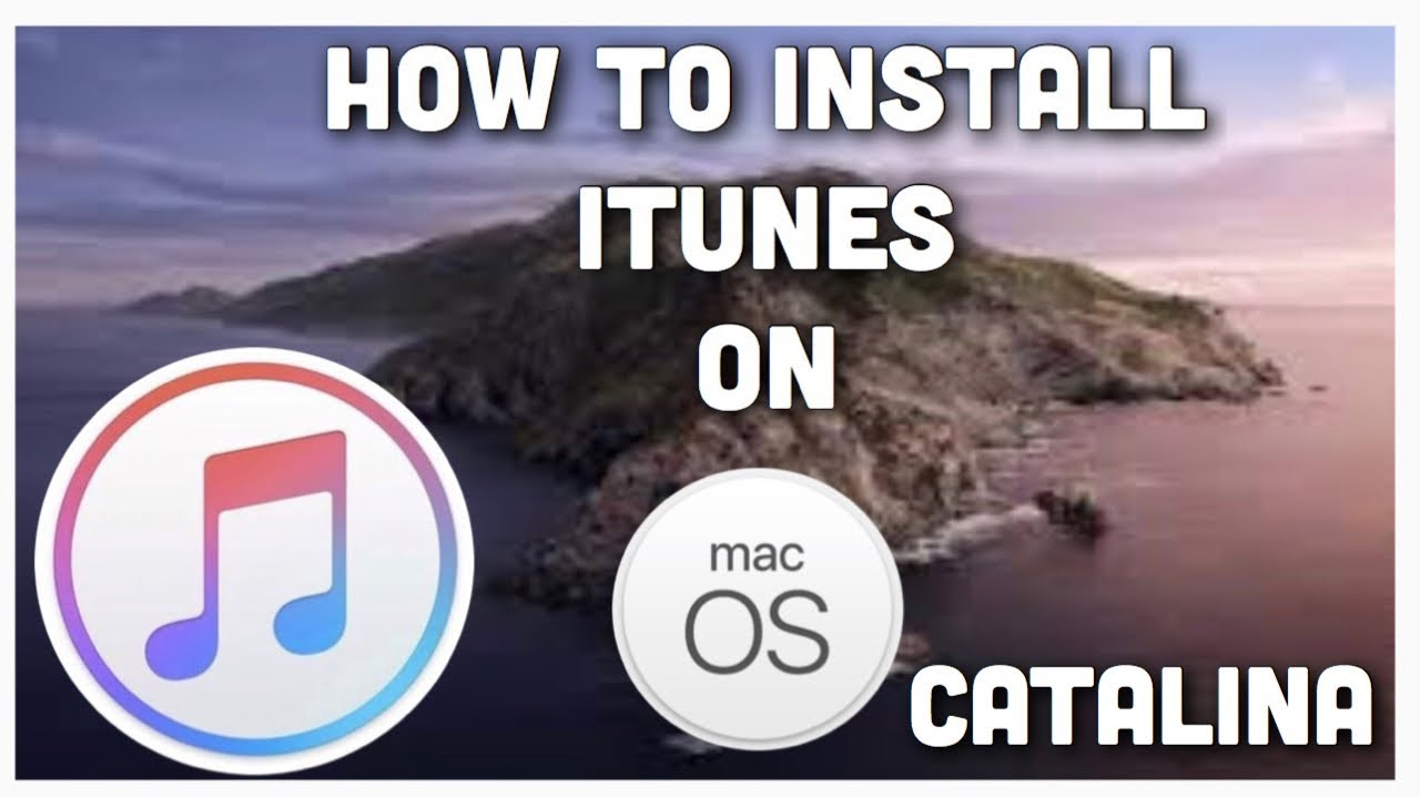 macOS Catalina: how to install iTunes on this operating system