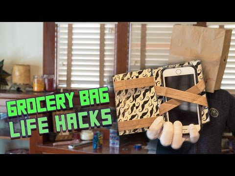 WATCH: 8 Super Handy Grocery Bag Hacks