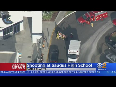 At least 7 Injured In Shooting At Saugus High School