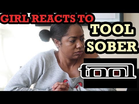 WIFE REACTS TO TOOL-SOBER // VERY DEEP AND EMOTIONAL