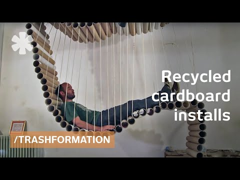 Trashformation Furniture Amp Shelter From Recycled