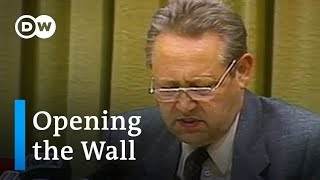 A stroke of fate changed history - Germany: Berlin Wall anniversary   Focus on Europe