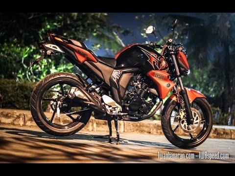 Yamaha new Byson FI (FZ 16 V2)