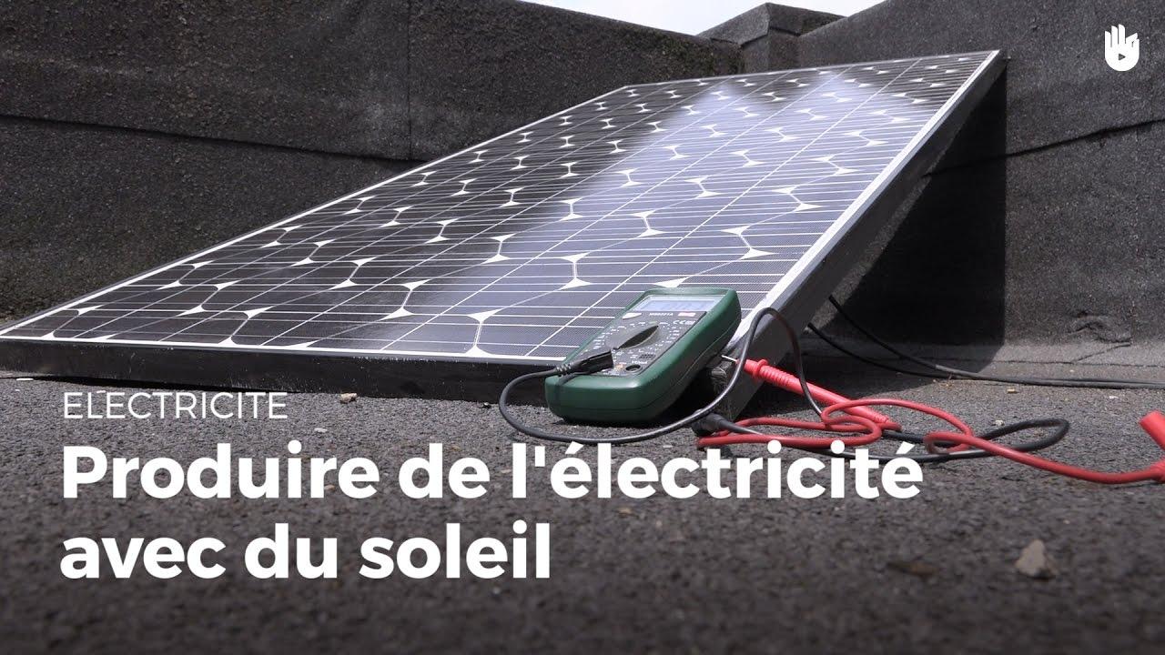 comment produire de l 39 lectricit avec du soleil installer et entretenir des panneaux solaires. Black Bedroom Furniture Sets. Home Design Ideas