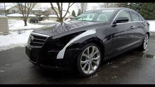 I bought SALVAGE car from Copart: Cadillac ATS