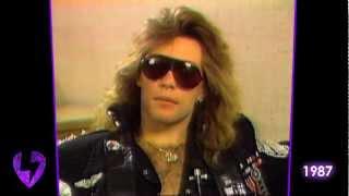 Bon Jovi: The Raw & Uncut Interview   1987