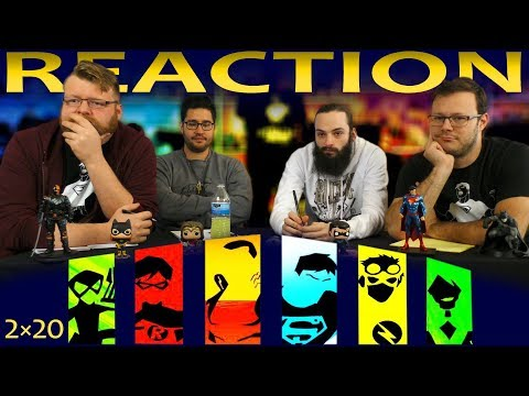 Young Justice 2x20 REACTION!!