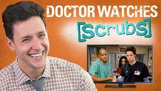 Real Doctor Reacts to SCRUBS | Medical Drama Review | Doctor Mike