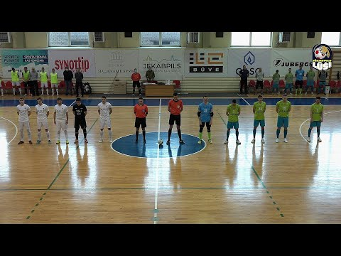 Jēkabpils Lūši Ošukalns vs RSUBAO-Dobele Ceturrdaļfināls (17.04.2021)
