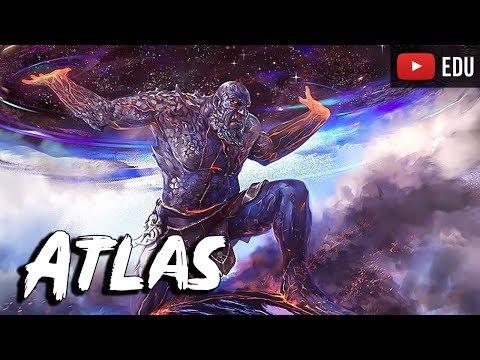 Atlas: O Poderos Titã Castigado por Zeus - Dicionário Mitologico - Foca na  História