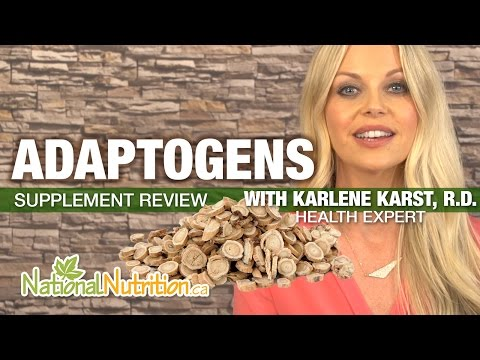 Professional Supplement Review - Adaptogens