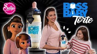 Boss Baby 3D Bottle / Gender Reveal Cake / Baby Shower Piñata Torte / Sallys Welt