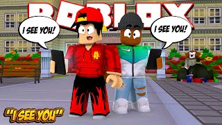 ROBLOX - SOMEONE IS STALKING GAMING WITH KEV!!!