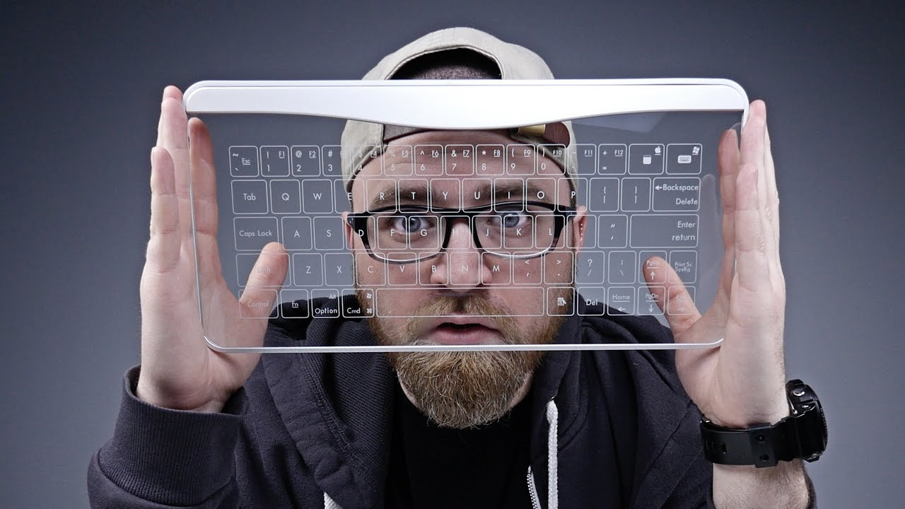 A Keyboard Made Of Glass? thumbnail