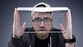 A Keyboard Made Of Glass?