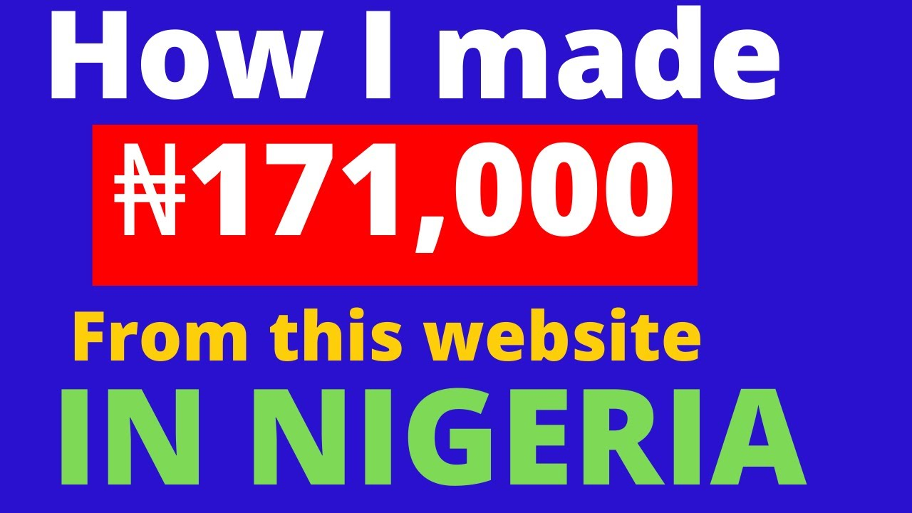 How I made 171,000 from this site in Nigeria|generate income online in Nigeria|blenkas