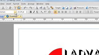 Serif DrawPlus Video Tutorial - Creating a Logo