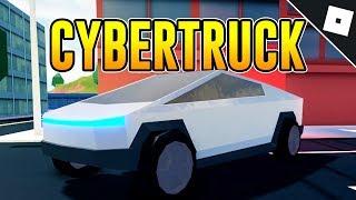How to get the CYBERTRUCK in JAILBREAK | Roblox