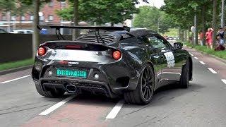 Lotus Evora GT430 Sport - Exhaust Sounds!