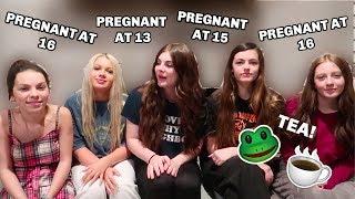 Teen Mom Sleepover W/ Cam&Fam, Maddie Lambert, & Sophie Gonzalez: SPILLING THE TEA..  Sierra Watts