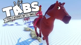 TABS - Horses and Calvary Units! - Totally Accurate Battle Simulator