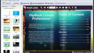design flipbook with animated scene!