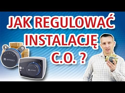 Jak regulować instalację c.o. za pomocą 3 i 4 drogowych zaworów mieszających ARV?