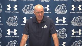 Gambar cover 2018 Coach Wilder Weekly Press Conference - Week 1