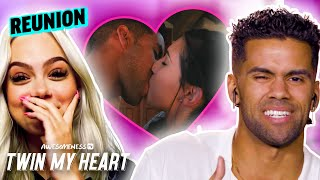 Nate Wyatt exposed for being a SERIAL KISSER | Twin My Heart Season 3 REUNION Pt. 1 w/ Merrell Twins