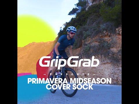 GripGrab Primavera Midseason Skoovertræk onesize Gul video