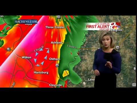 KOMU Tornado Warning Coverage 10-1-14