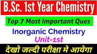 first year chemistry important questions - Kênh video giải