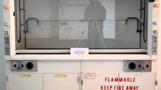 6′ Hamilton SafeAire Fume Hood Laboratory Furniture Equipment Fume Hood