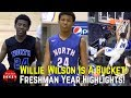 Willie Wilson Freshman Year Highlights! D1 Offered 2022 Guard Is A Bucket!