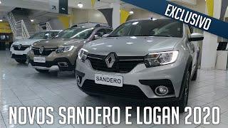 EXCLUSIVO - Novos Sandero e Logan 2020 em detalhes