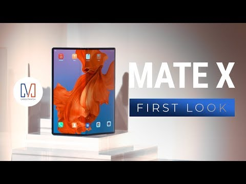 Huawei Mate X First Look: The Future is Foldable