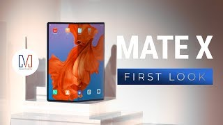 Huawei Mate X (Foldable Phone) First Look