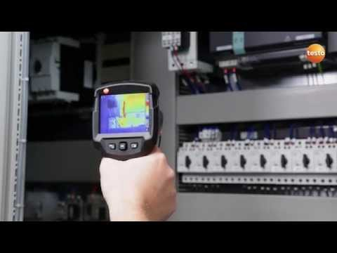 Thermography in electrical contracting with the testo 870 thermal imager
