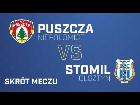 Skrót meczu Stomil Olsztyn - Puszcza Niepołomice 0:2